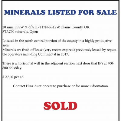Blaine County Minerals