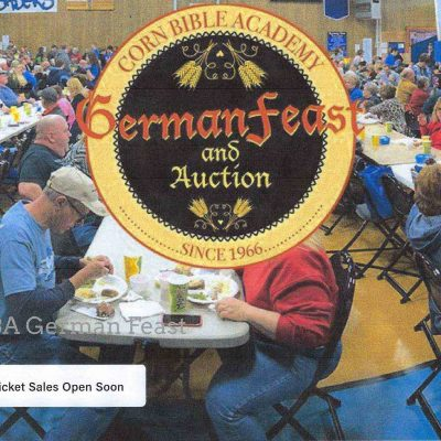 CORN BIBLE ACADEMY GERMAN FEAST AND AUCTION