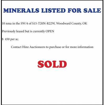 Woodward County Minerals